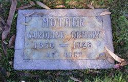 Caroline Ormsby
