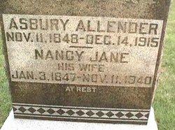 Nancy Jane <i>Kinney</i> Allender