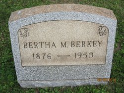 Bertha M. <i>Decker</i> Berkey