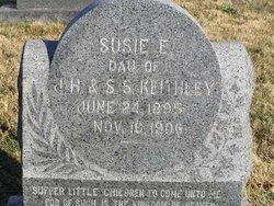 Susannah E. Susie Keithley