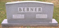 Gertrude <i>Burns</i> Berner