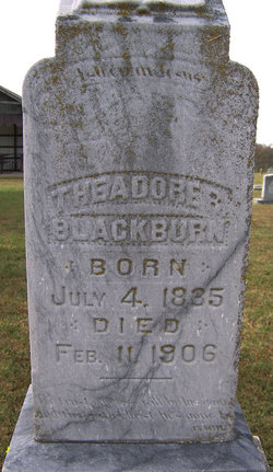 Theadore R Blackburn