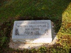 Martha <i>Ringhandt</i> Muschinske