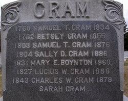 Sally D <i>Jenness</i> Cram