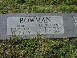 Billie Glen Bowman