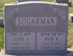 Ruth Frieda <i>Kalman</i> Sugarman