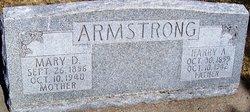 Mary Della <i>Sweeny</i> Armstrong
