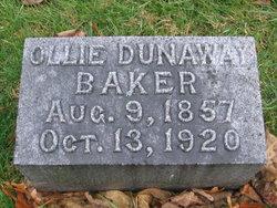 Ollie <i>Dunaway</i> Baker