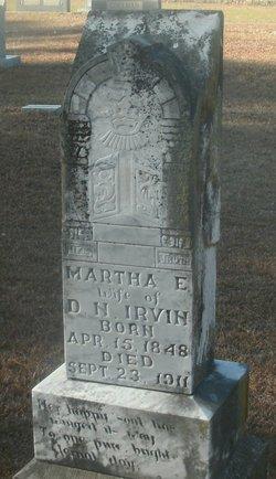 Martha Elizabeth <i>Sparks</i> Irvin