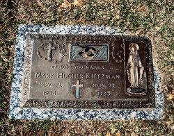 Mary <i>Hughes</i> Kietzman