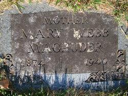 Mary <i>Webb</i> Magruder