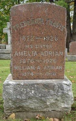 Amelia Ann <i>Travis</i> Adrian