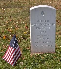 Maj Roger Montgomery Pickett