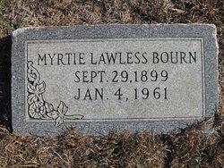 Myrtle Bell Myrtie <i>Lawless</i> Bourn