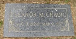 Eleanor Marie <i>Johnson</i> Cradic