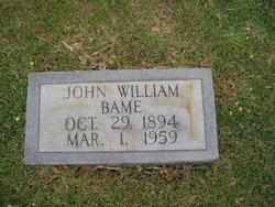 John William Bame