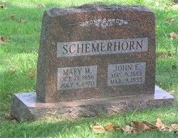 Mary Myrtle <i>Welker</i> Schemerhorn