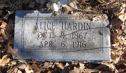 Alice Hardin