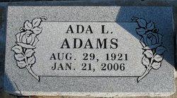 Ada L Adams