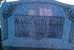 Marie <i>Ruby</i> Beam