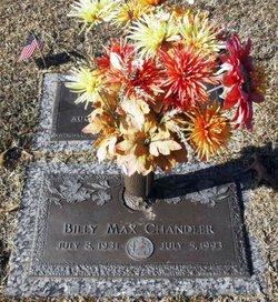 Billy Max Chandler