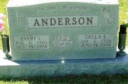 Della Elizabeth <i>Hill</i> Anderson