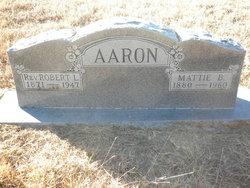 Mattie Bell <i>Jones</i> Aaron