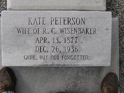 Katherine Eliza Kate <i>Peterson</i> Wisenbaker