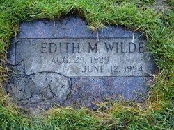 Edith M. <i>Lester</i> Wilde