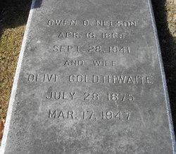 Olive <i>Goldthwaite</i> Nelson