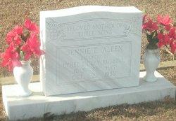 Jennie E. <i>Russell</i> Allen