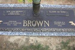 Claire De Blois Brown