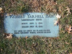 Robert Yarnell Bair