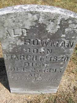Alphis M. Bowman