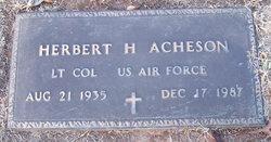 LTC Herbert Hamilton Acheson, Jr