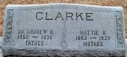 Martha Piney Mattie <i>Richardson</i> Clarke