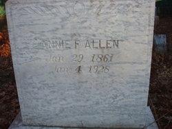Annie Louise <i>Ferguson</i> Allen