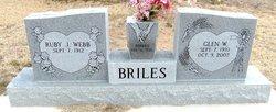 Ruby Jane <i>Webb</i> Briles