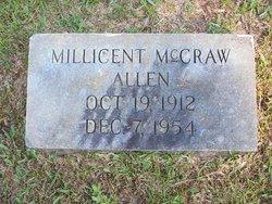 Millicent <i>McCraw</i> Allen