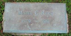 Mabel E <i>Grandstaff</i> Reck