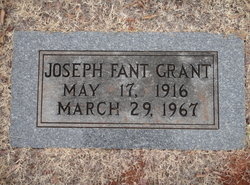 Joseph Fant Grant