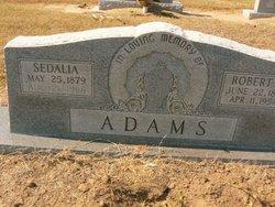 Sedalia <i>Combs</i> Adams