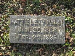 Martha J Mattie <i>Godfrey</i> Walsh