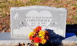Mary Eleanor <i>Wardlaw</i> Christopher