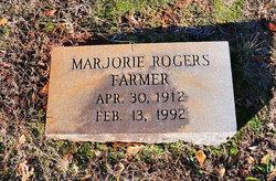 Marjorie <i>Rogers</i> Farmer
