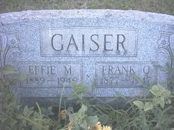 Effie Rhea <i>Minteer</i> Gaiser