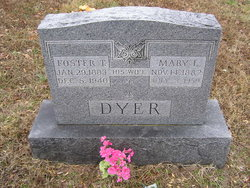 Mary L. <i>East</i> Dyer