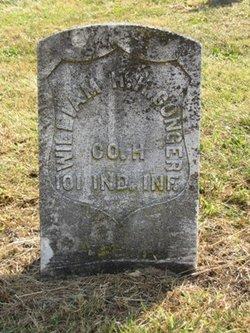 Pvt William Henry Harrison Conger
