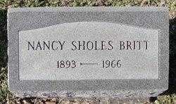 Nancy <i>Sholes</i> Britt
