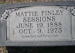 Mattie May <i>Finley</i> Sessions